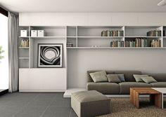 interior storage + modular seating // MM++ Architects