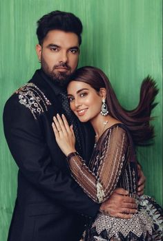 Iqra Aziz's latest photo shoot with fiancé Yasir Hussain - The Odd Onee Hot Couples, Celebrity Couples, Stylish Dresses, Fashion Dresses, Iqra Aziz, Beautiful Black Dresses, Bridal Photoshoot, Bustier Dress, Girl Photography