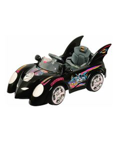 Black Batman Batmobile Ride-On! I just bought this for Drake this morning :) A kid is never too young for a Batmobile right?!