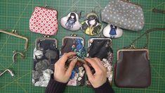 Cómo sacar patrones con distintas boquillas Frame Purse, Diy Purse, Cross Stitch Alphabet, Purse Patterns, Diy Home Crafts, Handmade Bags, Pin Cushions, Bag Making, Sewing Projects