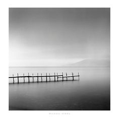 ''Foggy Morning Shikotsu Lake Hokkaido Japan 2004'' by Michael Kenna Photography Art Print
