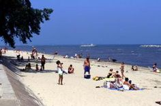 One of the best things about summer in the Cleveland area is the number of beautiful sand beaches in the area.