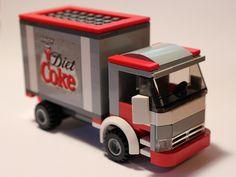 LEGO Diet Coke Truck by notenoughbricks