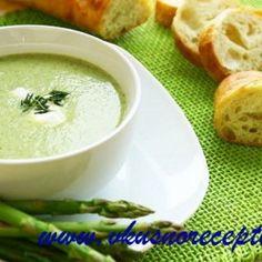 Крем-суп из спаржи. Вкусные рецепты.