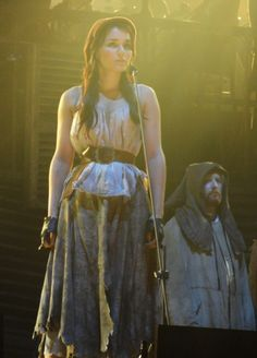 That's Eponine  She knows her way about  Only a kid but hard to scare  Do we care? Not a cuss!