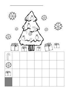 Christmas Graphing Worksheet