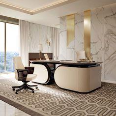 Vogue Collection www.turri.it Italian luxury office desk