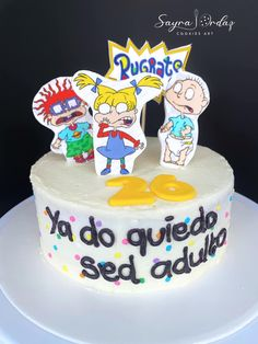 Mini Cakes, Cupcake Cakes, Cupcakes, Pickels, Rugrats, Drip Cakes, Cake Cookies, Cake Toppers, Bakery