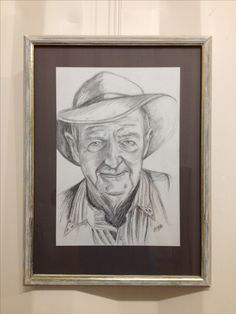 Slim Dusty By Leigh Hooker Music Icon, Good Old, Country Music, Pencil Drawings, Slim, 3d, Ideas, Country