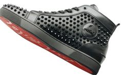 Christian Louboutin Louis Flat Calf/spike Sneakers Black Athletic Shoes. Get the must-have athletic shoes of this season! These Christian Louboutin Louis Flat Calf/spike Sneakers Black Athletic Shoes are a top 10 member favorite on Tradesy. Save on yours before they're sold out!