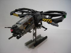 Flying Squirrel VTOL brick version | Flickr - Photo Sharing! Lego Helicopter, Lego Plane, Lego Ship, Lego Spaceship, Lego Craft, Flying Squirrel, Lego Mechs, Space Toys, Lego Military