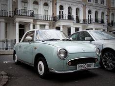 Nissan Figaro...I WANT IT.