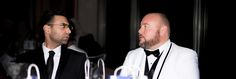 CEO Steven Cuoco, Left, and Project Runway Season 14 Joseph Charles Poli... #stevencuoco #unitedangelsdream