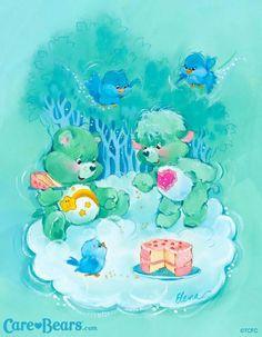 Care Bears & Care Bear Cousins: Wish Bear & Gentle Heart Lamb