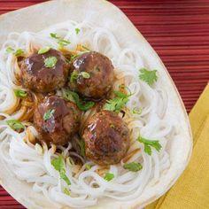 Easy Dinner Recipe: Asian Turkey Meatballs
