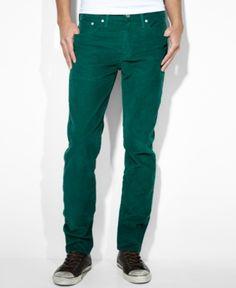#Levi's                   #Men                      #Levi's #Slim-Fit #Tapered #Corduroy #Pants, #Hunter                          Levi's 511 Slim-Fit Tapered Corduroy Pants, Hunter                            http://www.seapai.com/product.aspx?PID=5498873