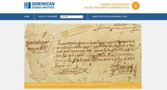 Spanish paleography tool. Teaching Early Modern.