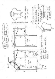 Blusa manga japonesa e gola esporte de amarrar | DIY - molde, corte e costura - Marlene Mukai