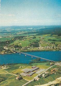 Fetsund Akershus fylke flyfoto