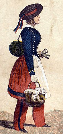"""""""Vivandière or Cantinière is a French name for women attached to military regiments as sutlers or canteen keepers."""""""