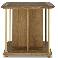 Brownstone Furniture Atherton Teak End Table - Matthew Izzo Home