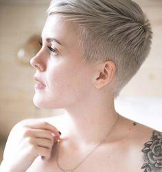 just short haircuts, nothing else. If you're thinking of getting an undercut, sidecut, pixie, or any. Short Sassy Hair, Super Short Hair, Short Hair Cuts, Short Hair Styles, Pixie Cuts, Short Pixie Haircuts, Pixie Hairstyles, Short Hairstyles For Women, Weave Hairstyles