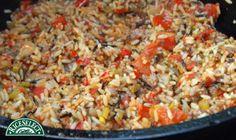 How @rflattsgal on Twitter rethinks rice: RiceSelect Dirty Rice #RethinkRice #Sweeps #RiceSelect #Recipe