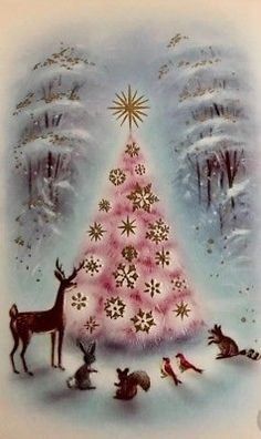 35 Festive Christmas Wall Decor Ideas that will Instantly Get You into the Holiday Spirit - The Trending House Christmas Clock, Christmas Tree Cards, Christmas Scenes, Christmas Greetings, Christmas Time, Christmas Decorations, Christmas Desserts, Xmas, Vintage Pink Christmas