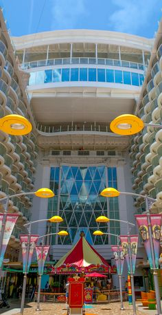 Dedicated to family, fun and nostalgia, the Boardwalk neighborhood onboard Oasis of the Seas is reminiscent of Coney Island. Royal Caribbean Oasis, Cruise Tips Royal Caribbean, Royal Caribbean International, Caribbean Vacations, Honeymoon Cruise, Cruise Travel, Cruise Vacation, Dream Vacations, Shopping Travel