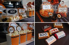 {NEW!} Halloween Trick-or-Treat Printable Party Collection on http://frogprincepaperie.com