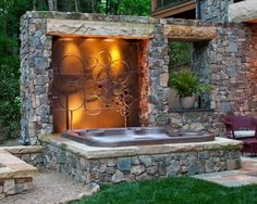 Custom Tub Ideas for Outdoor Patio Spa