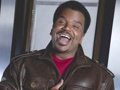 Craig Robinson laughing funny comedian