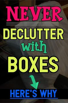 Decluttering Club: Why You Should ONLY Declutter With Bags NOT Boxes Deep Cleaning Tips, House Cleaning Tips, Spring Cleaning, Cleaning Hacks, Speed Cleaning, Cleaning Checklist, Declutter Home, Declutter Your Life, Cleaning Window Tracks