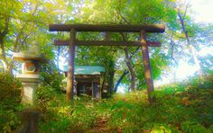 A small hidden shrine by Tim Ernst on 500px