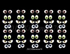 Kimsmom76: Edible Icing Eyeballs- Tutorial