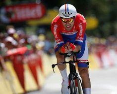 Etappe 13, Dumoulin wint tijdrit!
