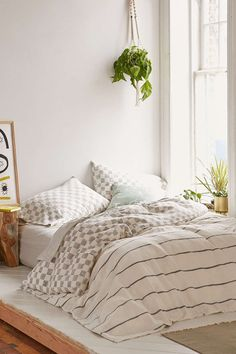 Campo Check Woven Duvet Cover - Urban Outfitters