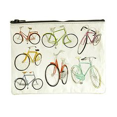 Zipper Pouch - Bicycles