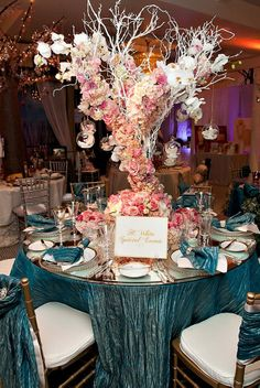 This is so beautiful ~ Photography: Sipper Photography // Floral Design: Butterfly Floral  Event Design // Event Design: H. White Special Events