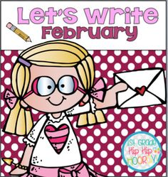 Are you ready?Let's Write...FebruaryThis packet is designed to provide students with practice using the CCSS.Visit this site to see complete details!This writing packet has three levels to provide DIFFERENTIATION in your writing program!February focuses on Sensory, Persuasive, Summative, and How To writing with the topics: Topic/Literature Suggestion with lesson plans.The Day it Rained Hearts...How to make a ValentineMy Teacher for President...Why my teacher would make a good presidentGo to…