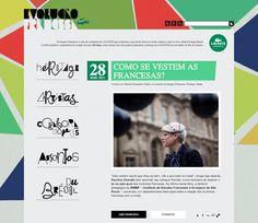 Peça: Blog Projeto: Evolução Francesa Cliente: Lacoste Ano: 2009 a 2011 Agência: LiveAD