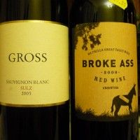 12 Most Absurd Wine Names. Personally, I love Fat Bastard. One name not listed that we've tried: Royal Bitch