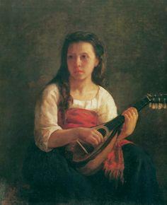 Mary Cassatt- The mandolin player