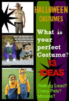 Walking Dead? Crazy Pets? 13 Costume Ideas from SusieQTpies Cafe