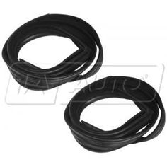 1979 - 1993 Ford Mustang Window Run Channel Weatherstrip PAIR