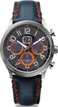 DuBois et fils Watch DBF001-10 Chronograph Big Date Limited Edition #bezel-fixed…
