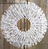 White Natural Twig  - Wreath