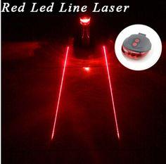 Tail light (5LED+2Laser) Cycling Safety warning Bicycle Rear Lamp Bike Laser Tail bike Light Bicicleta Caution TL0218