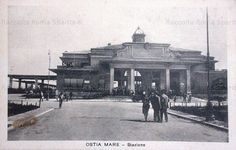 Ostia Mare, Stazione Anno: 1930 Old Photos, Rome, Louvre, Street View, Vintage, Travel, Antique, Italia, Pictures