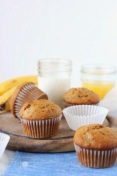 ambrosia: Banana Nut Muffins